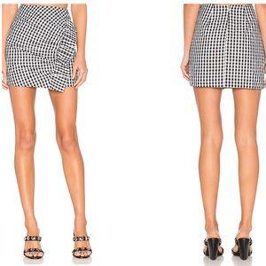 Lovers + Friends X Revolve Lisa Gingham Skirt